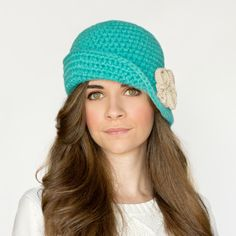 Hopeful Honey | Craft, Crochet, Create Great site for MANY  free and cute crochet hats!