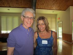 Dr. Brian Weiss and me - he's such an amazing person!