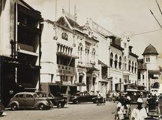 Soerabaja, chineesche voorstraat (Kembang Jepun) 1925