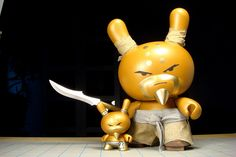 The Glorious Soaring Golden Grandfather Dunny