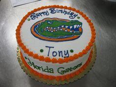 University of Florida Gators cake
