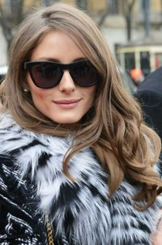 Olivia Palermo, Beauty Makeup, Hair Makeup, Rides Front, Fringe Bangs, Bare Face, Glam Girl, Cute Beauty, Look Younger
