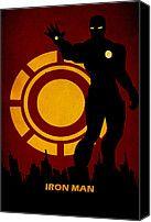 Star Wars Canvas Prints - Iron Man Canvas Print by FHTdesigns