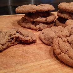 Pindakaas chocolade koekjes - Het keukentje van Syts