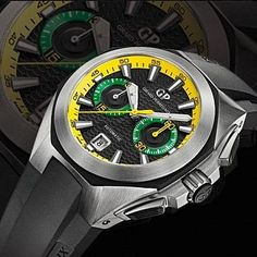 Girard-Perregaux Chrono Hawk Brasil | MATÉRIA:estilo