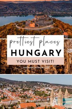 Best Hungary Travel bucket lists places to visit | Hungary Budapest Eger Szeged Drebecen Lake Balaton | Visit Hungary beautiful places nature to Hungary cities to explore this year | Hungary things to do in the country European Travel Tips, European Vacation, Europe Travel Guide, European Destination, Travel List, Travel Guides, Cool Places To Visit, Places To Travel, Travel Destinations