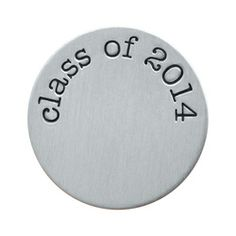 Congrats, graduate - you did it! Add this Medium Silver Class of 2014 Plate to any Living Locket with the Diploma Charm to celebrate your accomplishment.