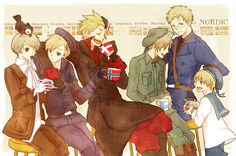 Da Nordics wallpaper probably with a special forces in The Hetalia Club