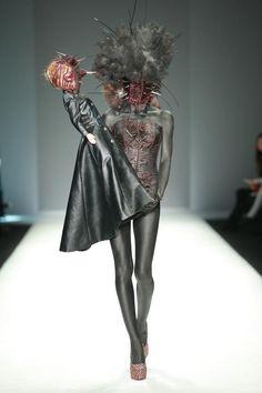 Hu Sheguang masked couture