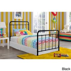 DHP Brooklyn Iron Twin-size Bed | Overstock™ Shopping - Great Deals on Dorel Home Products Beds