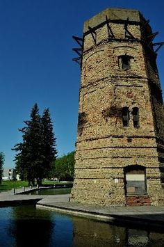 Tallinn-Ülemiste water tower, Estonia