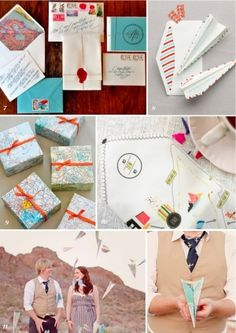 A Travel Themed Wedding. Saving these ideas for @Melissa Squires Squires White - one day! :)