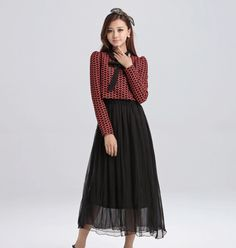 free, bow, tie, long, sleeve, maxi, dress, clearance, ghl0060 yrb, sale, style, yrbfashion, fashion, asian, korean, japanese,sales, elegant,...