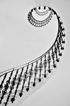 Beautiful architecture! Staircase. Interior design.