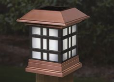 11 best solar post cap lights images on pinterest cap dagde deck designer solar post cap lights brighten your deck fence or rail day and nightwithout wiring or electricity by night enhance your setting with a aloadofball Images