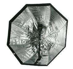 包邮 新款80CM伞形八角柔光箱 反光伞两用 闪光灯通用 快速安装型