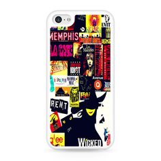 Broadway Musical Collage iPhone 5C Case