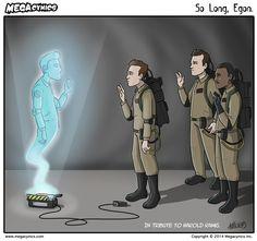 RIP Harold Ramis. So long, Egon. :(
