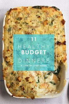 11 healthy recipes to feed your family cheaply, with British products AND ideal if you're on a tight budget