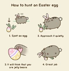 how to hunt an Easter egg