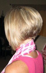 like the back of this, keep returning to short hair... just so much easier.
