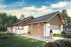 Projekt domu Pliszka V 103,9 m2 - koszt budowy - EXTRADOM