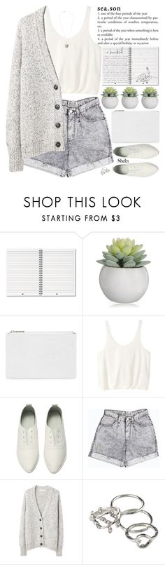 """""""thank you if you've been good to me"""" by alienbabs ❤ liked on Polyvore featuring moda, Whistles, 3.1 Phillip Lim, Retrò, Vanessa Bruno Athé, clean, organized e shein"""