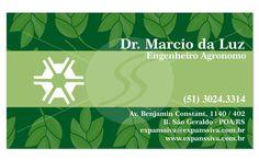 Cartões de Visita para Agrônomos M2797