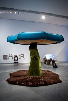 Anthony Kleinepier, MushRoom, 2011. Installation | Image © MOTI | #design