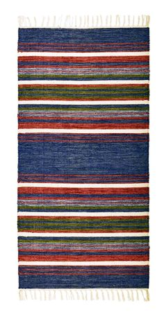 Bilderesultat for trasmattor handvävda Rope Rug, Best Carpet, Tapestry Weaving, Recycled Fabric, Rug Making, Scandinavian Style, Pattern Design, Kids Rugs, Rag Rugs