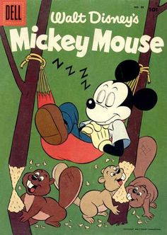 Mickey Mouse 4 color, Dell #48