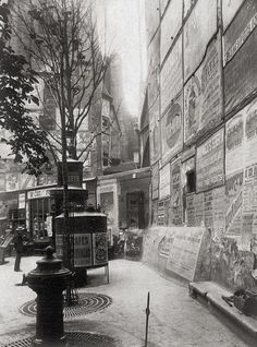 Paris 1899 Photo: Eugène Atget