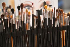 #Brushes forever! with @MAKE UP FOR EVER OFFICIAL #MBFWSwim 2013