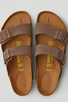 AEO Birkenstock Arizona Sandals, Men's, Size: 13, Brown