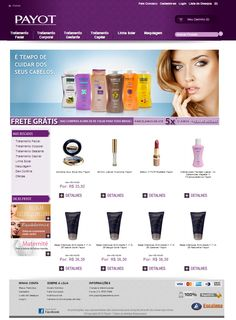Layout Site Ecommerce Payot