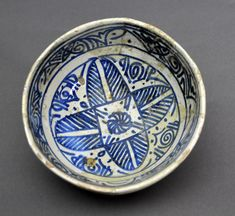 bowl, spanish, 15th century Valencia Inventario: FC.1994.02.207