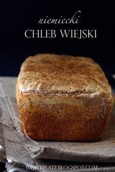 White Plate: Zaproszenie do Weekendowej Piekarni Bread Machine Recipes, Bread Recipes, White Plates, Banana Bread, Goodies, Rolls, Food And Drink, Cooking, Brot