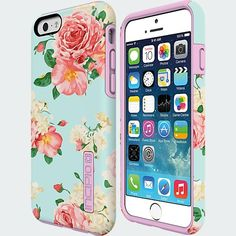 Incipio DualPro Prints for iPhone 6 - Mint Rose | Verizon Wireless - Verizon Wireless