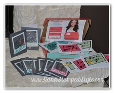 Sale-A-Bration Kickoff Event 2015 with http://www.handstampedstyle.com tons of Occasions Catalog samples and FUN to be had!