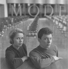 Astrid Kirchherr and Klaus Voormann, Hamburg Art School