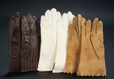 Love, Shirley Temple, Collector's Book: Lot # 458: Three Pairs of Kidskin Gloves Worn by Young Shirley Temple