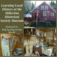 Learning Local History at the Talkeetna Historical Society Museum #Alaska