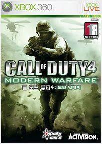 콜 오브 듀티 4 : 모던 워페어 (Call Of Duty 4 : Modern Warfare) – Infinity ward