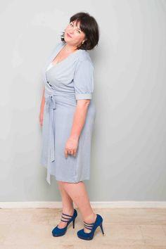 jurk Nine, Tea Dress, Kleren van Toontje, grote maten mode