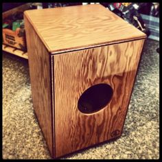 "tycoon ""cajon"" Instruments, Bird, Outdoor Decor, Home Decor, Drawers, Drums, Homemade Home Decor, Tools, Birds"