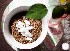 Hirsebrei mit Chia und Nüssen | Marille's Cuisine  #Hirse #Chia #Frühstück #Superfood #allergiearm #dairyfree #glutenfree #vegan