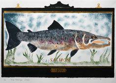 Percy's Salmon 5/10 | St. Jude's Prints
