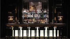 elegant midcentury bar - savoy hotel