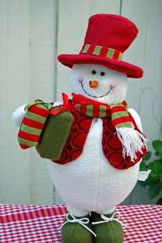 Let's Paint a Snowman Door Greeter