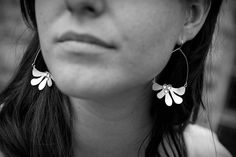Earrings by Moira K Lime